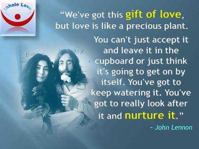 John Lennon on Love quotes at Inhale Love: All you need is ...